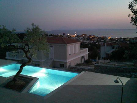 Holiday, Real Estate, Property,Limenaria, Thassos, pool, villa exclusive