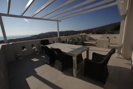 Architect Office, Holidays villa, stone made terrace, Real Estate, Thassos